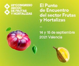AECOC -- 23º CONGRESO AECOC DE FRUTAS Y HORTALIZAS 14 y 15 de septiembre 2021 - Valencia