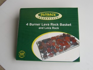 Lava rock basket 4B