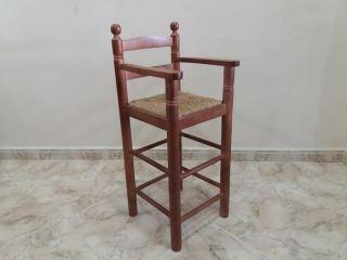 TRONA DE NIÑO NOGAL