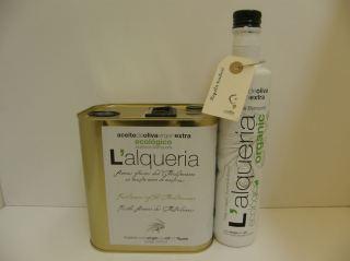 ACEITE OLIVA VIRGEN EXTRA ALQUERIA  ORGANIC blanqueta