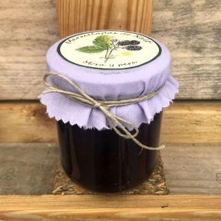 Mermelada de mora y pera (212 ml)