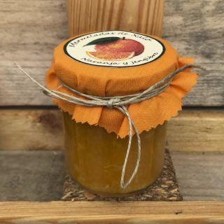 Mermelada de naranja y jengibre (212 ml)