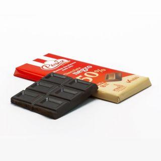 Chocolate negro 50% con almendras (125 grms)