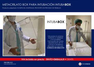 METACRILATO BOX PARA INTUBACIÓN INTUBABOX