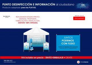 PUNTO DESINFECCIÓN E INFORMACIÓN AL CIUDADANO