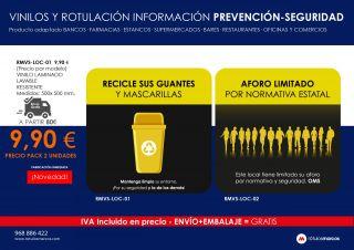 VINILOS Y ROTULACIÓN INFORMACIÓN PREVENCIÓN-SEGURIDAD