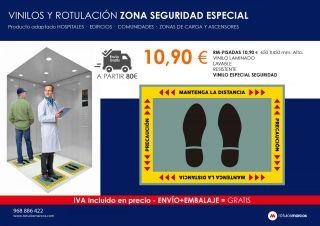 VINILOS Y ROTULACIÓN ZONA SEGURIDAD ESPECIAL