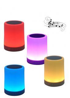 10198 SOBREMESA LED SPEAKER 3W BLUETOOTH + RGB JUERIC