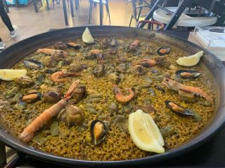 Mixted paella