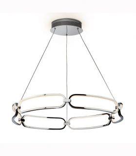 lampara colette cromo
