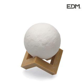 thumb LAMPARA LUNA LED 3D