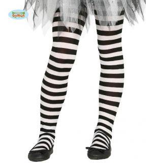 Panty rayas blanca y negra