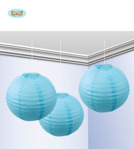 Farolillos azules de 25cm