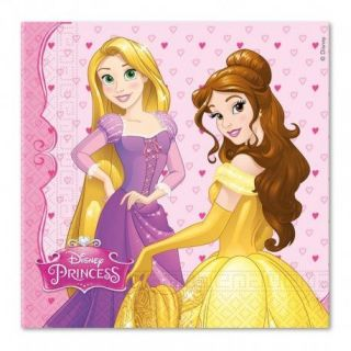 Servilletas princesas