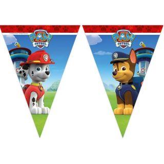 Banderín de la patrulla canina