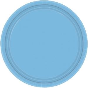 imagen Platos azul claro 22,8cm
