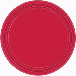 Platos rojos 22,8cm