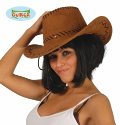 Sombrero vaquero cuero