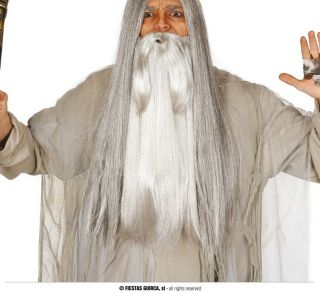 Barba grisácea larga