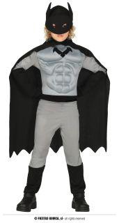 Disfraz de superhéroe musculoso Batman