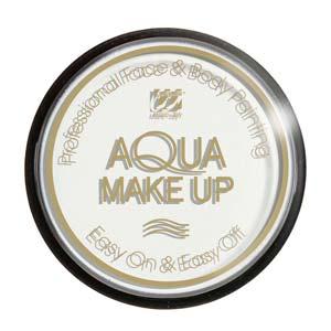 Tarro maquillaje al agua blanco 30Gr.