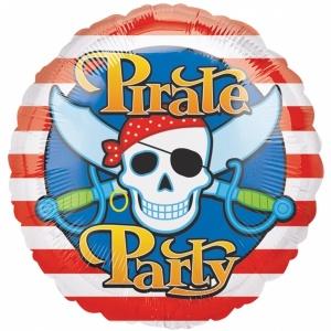 Globo foil pirata