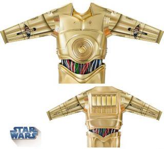 Camiseta disfraz C3PO Star Wars