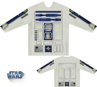 Camiseta disfraz R2D2 Star Wars