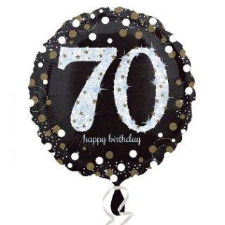 Globo foil happy birthday nº70