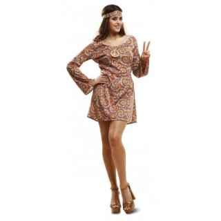 imagen Disfraz de hippie Psicodélica mujer