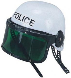 Casco policia.