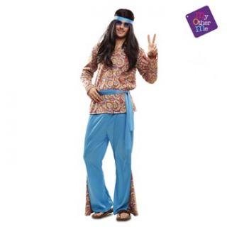 imagen Disfraz de hippie psicodelico