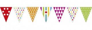 Guirnalda banderines de colores