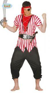 imagen Disfraz de pirata de ultramar hombre