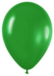 Globo látex verde bosque