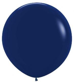 Globo grande azul naval de 90cm