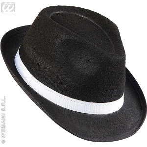 imagen Sombrero gangster negro