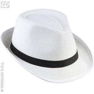 imagen Sombrero gangster blanco