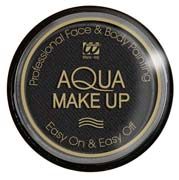Tarro maquillaje al agua en negro 15Gr