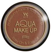 Tarro maquillaje al agua marrón 15Gr.