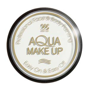 Tarro maquillaje al agua blanco 15Gr.