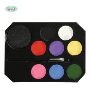 Paleta de maquillaje mousse de colores