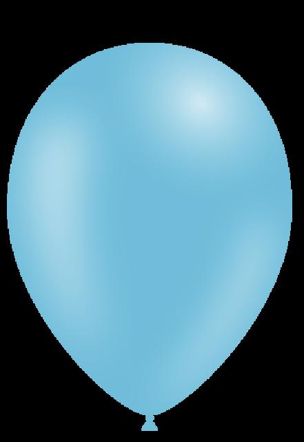 Globo látex azul celeste