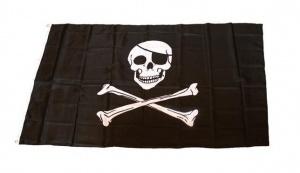 imagen Bandera pirata grande