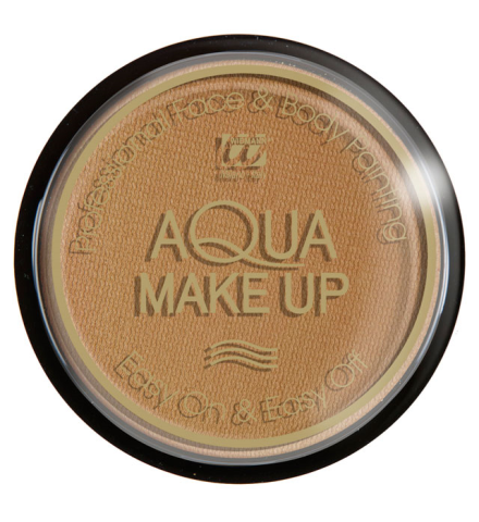 Tarro maquillaje al agua marrón claro 15Gr.