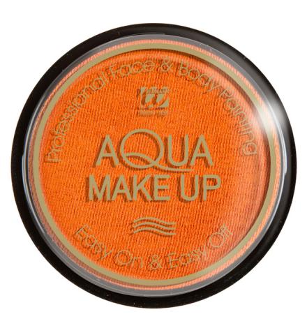 Tarro maquillaje al agua naranja 15Gr.