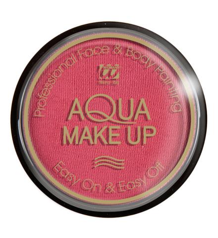 Tarro maquillaje al agua rosa fucsia 15Gr.