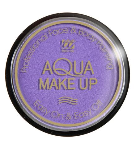 Tarro maquillaje al agua lila 15Gr.