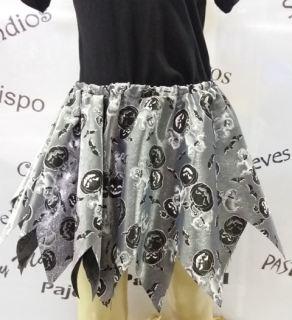 Disfraz falda halloween