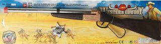 Rifle con chapa sherif